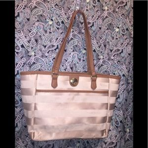Tommy Hilfiger's Jacquard Striped Tote